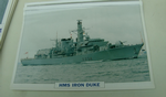 HMS Iron Duke Frigate warship framed picture (20)